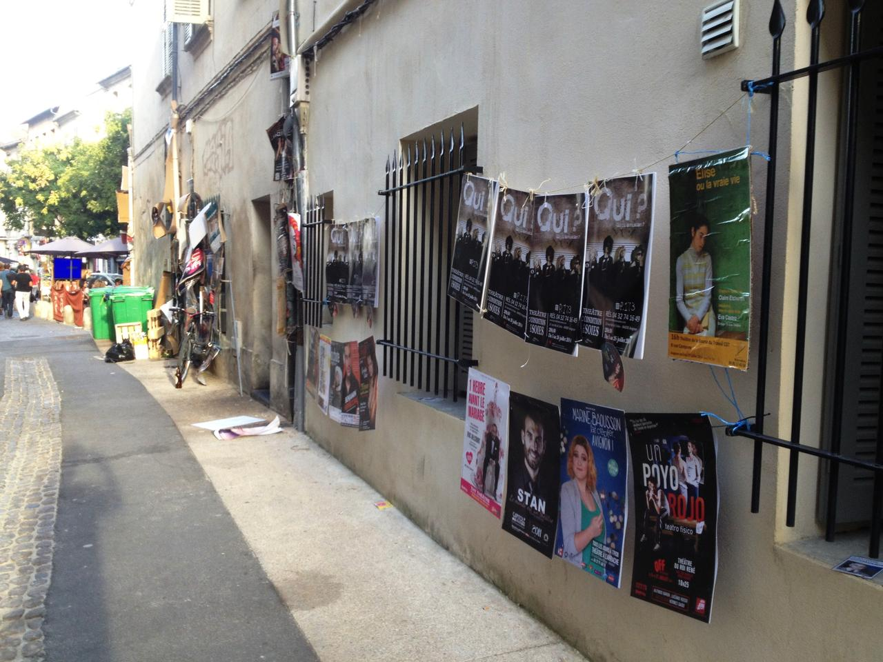 affichage festival avignon 2014 039 avignon publicit. Black Bedroom Furniture Sets. Home Design Ideas